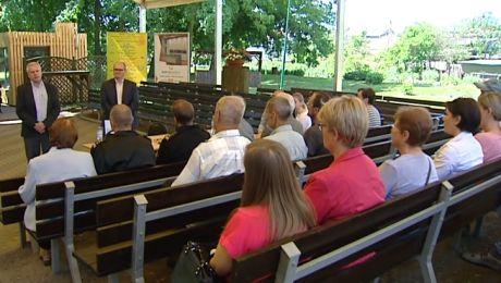 Mieszkańcy Łabiszyna boją się ewentualnych toksyn z pogorzeliska