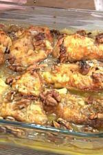 Piersi kurczaka w sosie cytrynowo–orzechowym