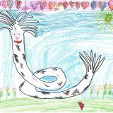Aleksandra Klimczuk, 5 lat, Wyciążkowo