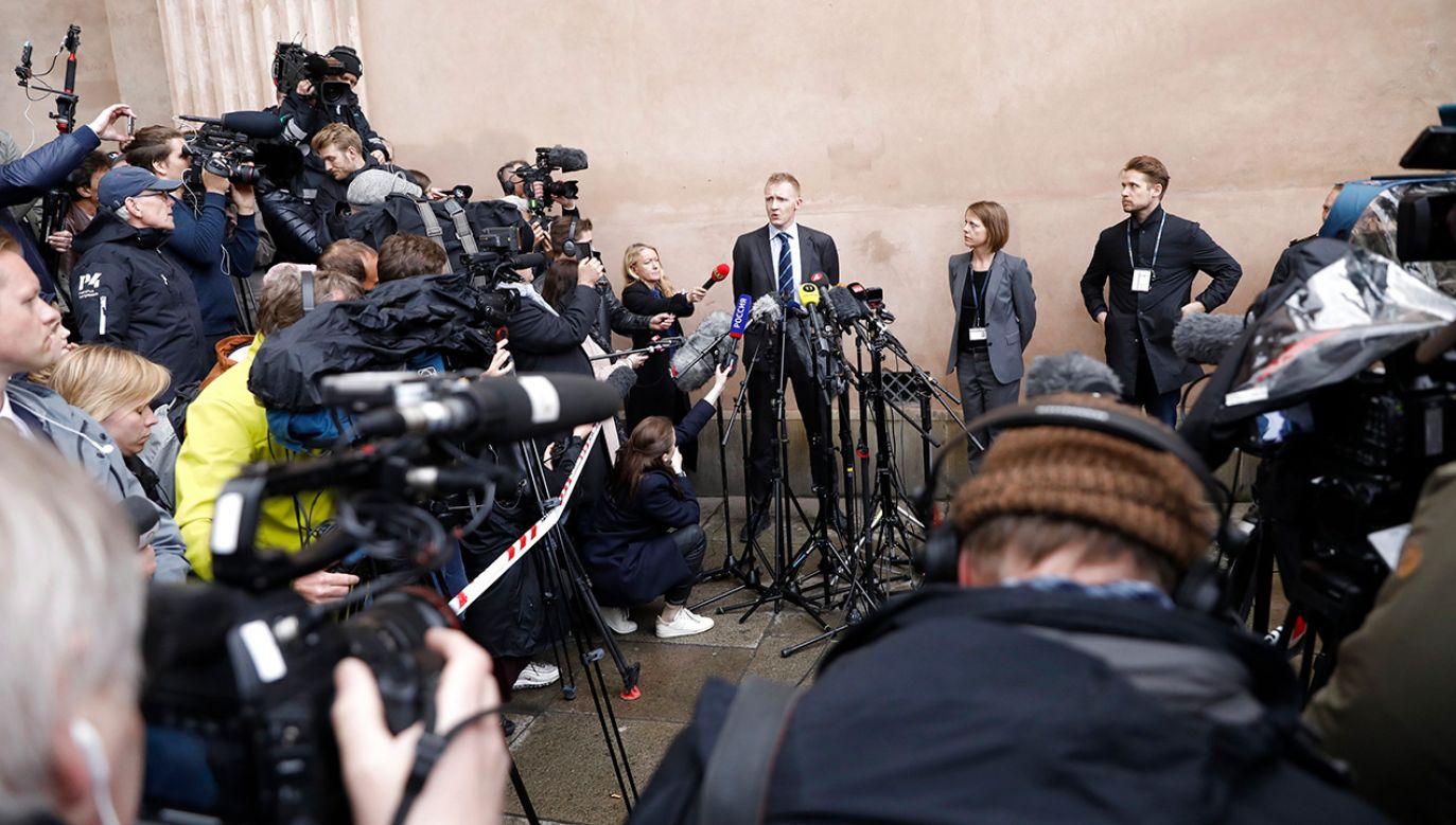 Proces przed sądem rejonowym w Kopenhadze trwał 11 dni (fot. PAP/EPA/Mads Claus Rasmussen)