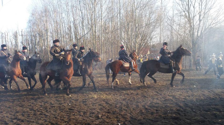 Rekonstrukcja bitwa pod Olszynką Grochowską