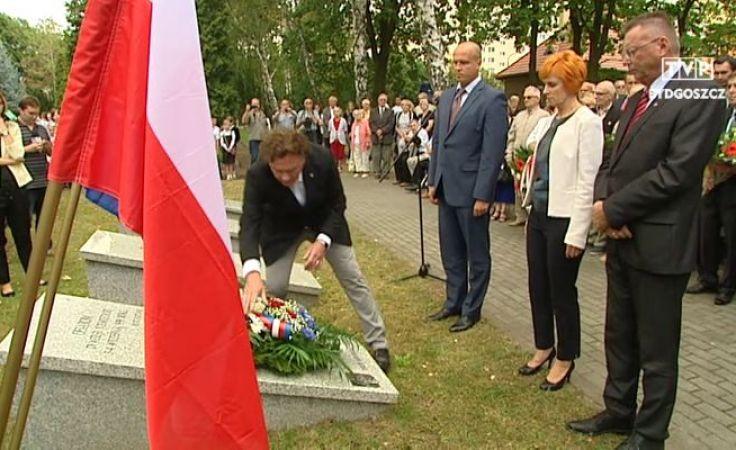 Uczcili pamięć ofiar niemieckiej dywersji września'39