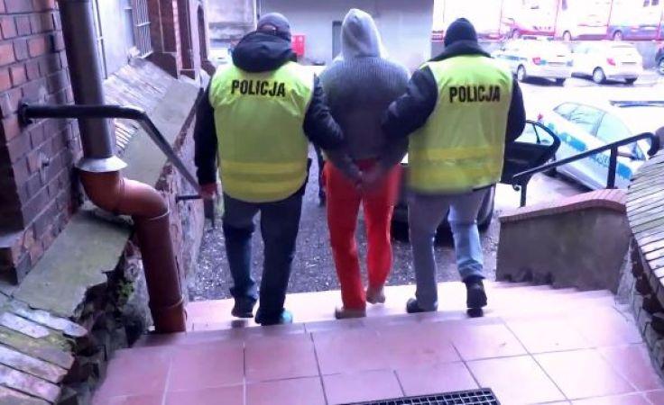 Policjanci zatrzymali 41-letniego mieszkańca miasta