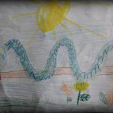 Portret Anakondy – Patryk Głąbiński, 6 lat