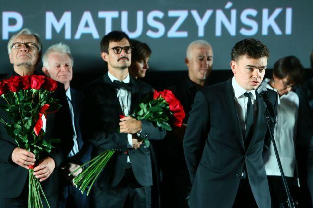 W Warszawie odbyła się uroczysta premiera filmu, który przedstawia historię rodziny  Beksińskich (fot. PAP)