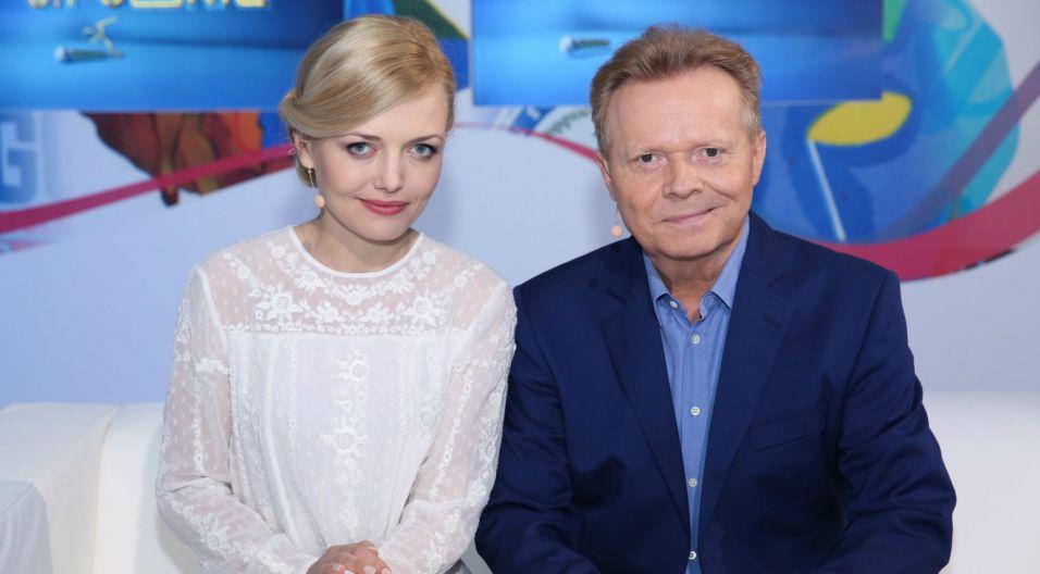 Tym razem gościem programu był Michał Bajor (fot. Natasza Młudzik/TVP)