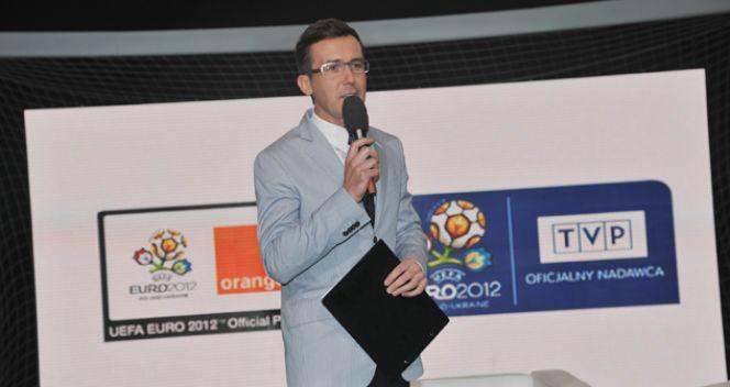 Konferencję prasową prowadził Maciej Kurzajewski (fot. Ireneusz.Sobieszczuk)