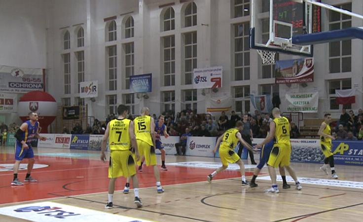 Wygrany mecz łańcuckich koszykarzy
