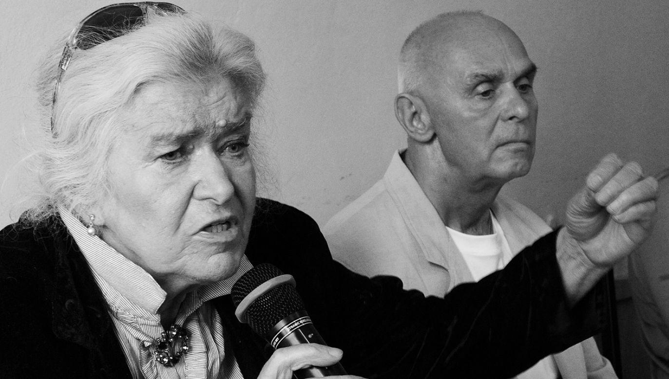 Ligia Urniaż-Grabowska zasiadała w Senacia IV kadencji (fot. arch.PAP/Grzegorz Jakubowski)