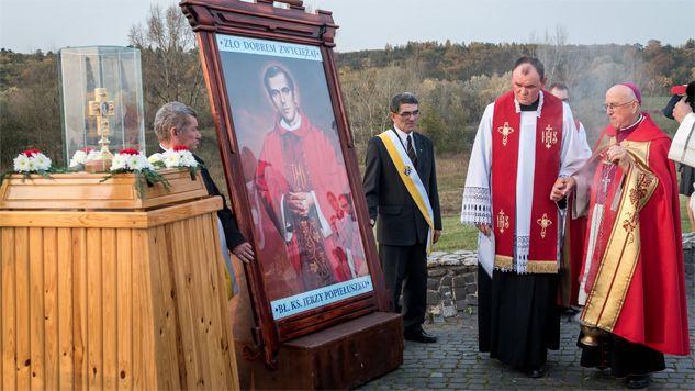 Bł. ks. Jerzy Popiełuszko był kapelanem Solidarności (fot. PAP/Tytus Żmijewski)