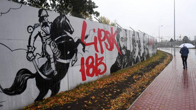 Patriotyczny mural w legionowie for Mural legionowo
