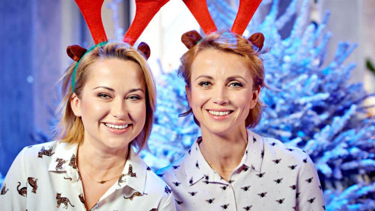 Katarzyna Zielińska z siostrą Karoliną (fot. TVP)