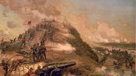 Zdobycie Fortu Fisher. (J.O. Davidson)
