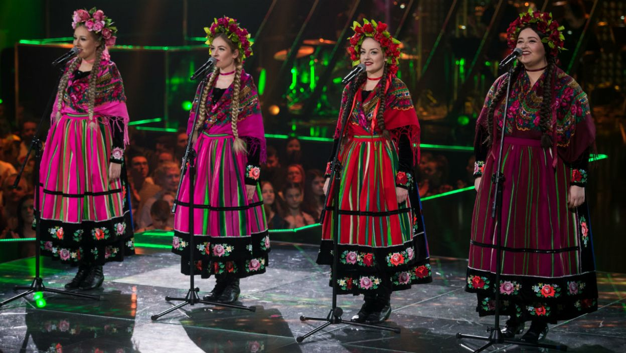 Siłą zespołu jest mocne powiązanie z tradycją słowiańską nie tylko w muzyce, ale także w wizerunku (fot. TVP)