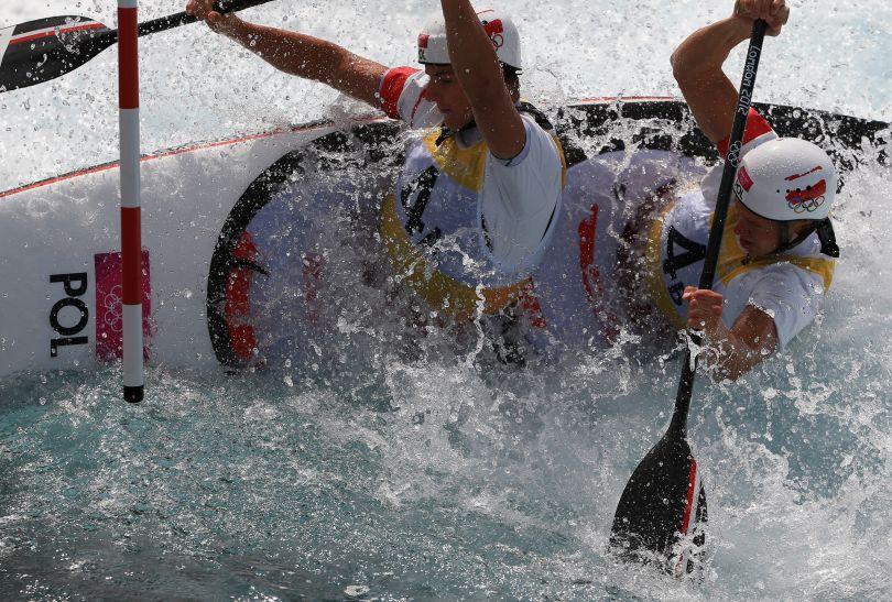 Polacy Piotr Szczepański i Marcin Pochwała zajęli w finale piąte miejsce (fot. Getty Images)