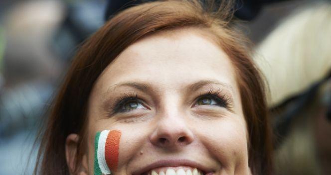 Irlandczycy mogą liczyć na wsparcie ze strony polskich fanów (fot. PAP/Adam Warżawa)