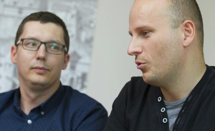 Daniel Burniak i Adrian Bartosik (fot. PAP/Aleksander Koźmiński)