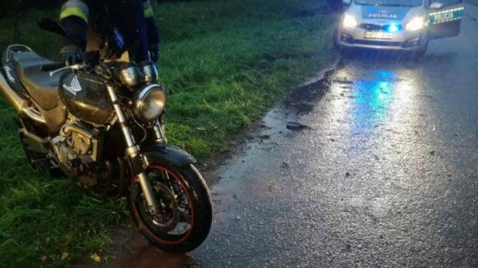 Jeden z wypadków skończył się śmiercią motocyklisty (fot. KWP Olsztyn)