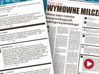 Sędzia, który skazał Kamińskiego, oferował Lisowi pomoc w zwalczaniu PiS-u? Łączewski zaprzecza i zawiadamia prokuraturę