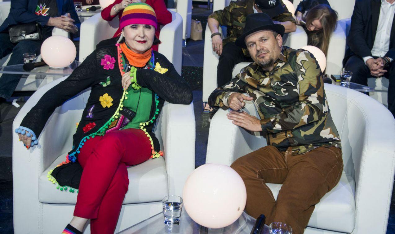 Świetny humor nie opuszczał tej pary ani na chwilę (fot. J. Bogacz/TVP)