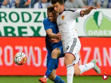 Trzy gole i skandal. Zobacz skrót z meczu Legia – Kukesi