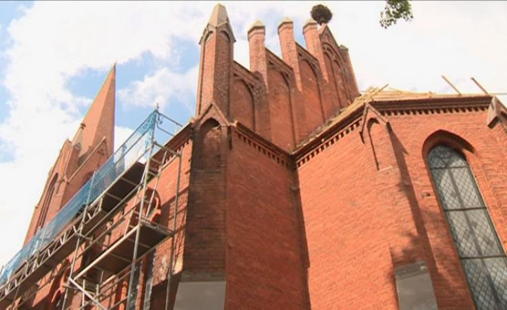 Mieszkańcy sami zebrali pieniądze na remont kościoła