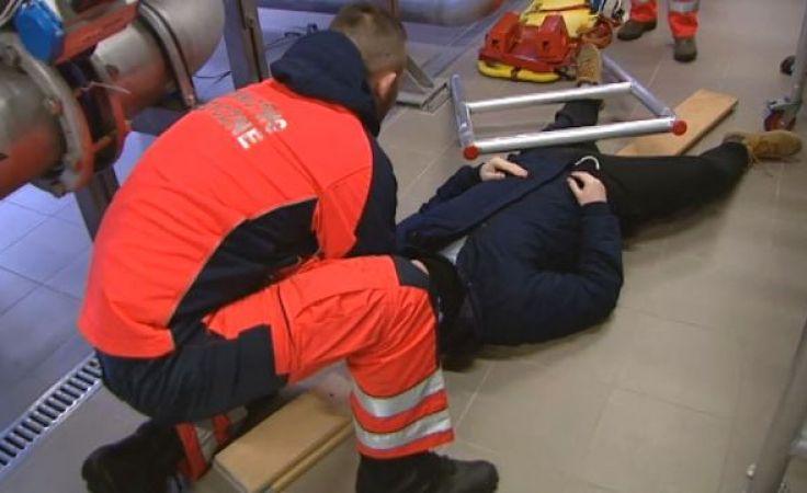 Młodzi ratownicy poddani próbie podczas manewrów