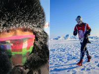 Polka druga w maratonie na biegunie północnym