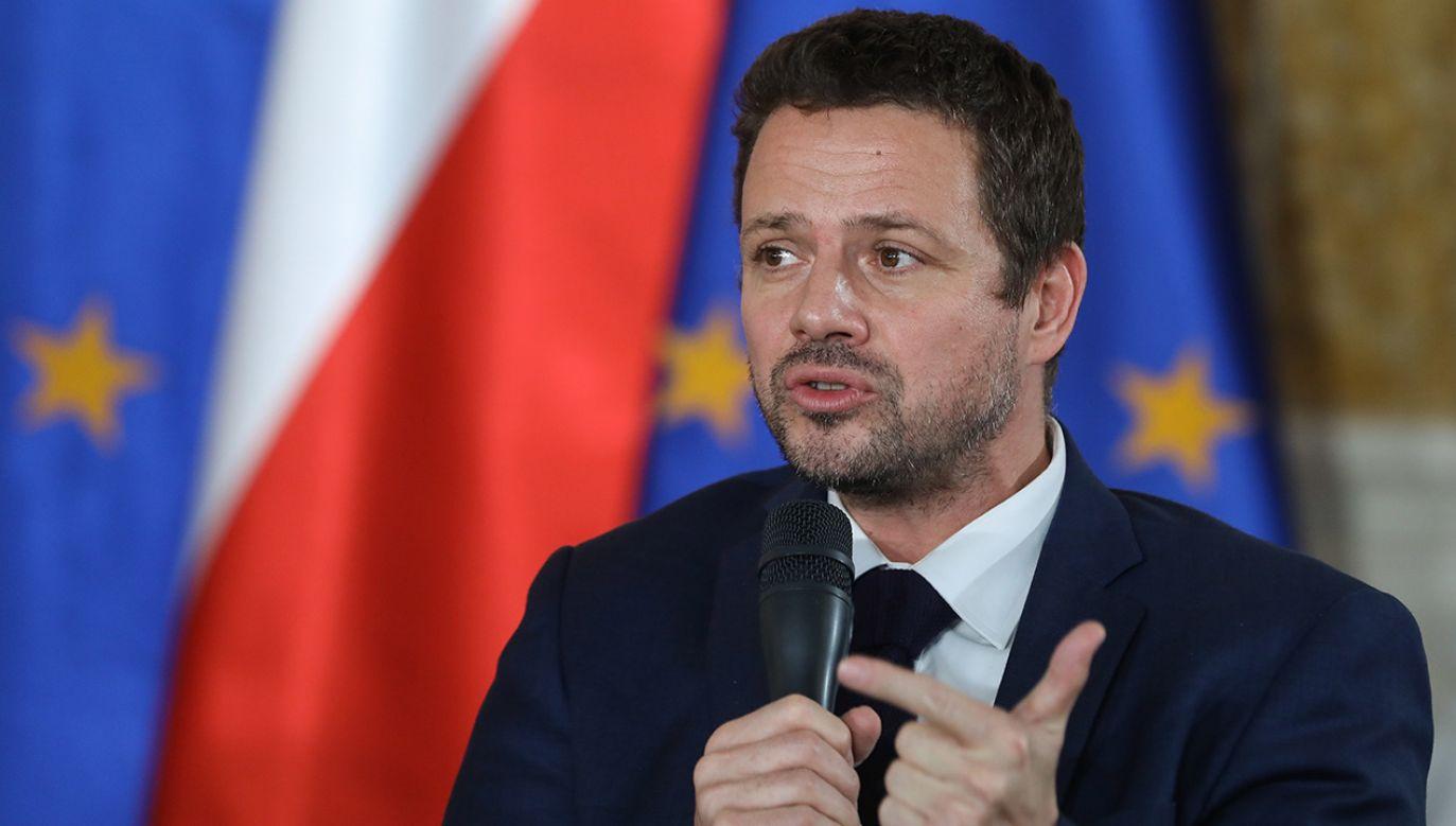 Rafał Trzaskowski to kandydat Platformy Obywatelskiej na prezydenta Warszawy (fot. arch.PAP/Rafał Guz)