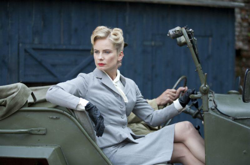 W nowej serii serialu Magdalena Cielecka wcieli się w postać Ady Lewińskiej (fot. M. Zielska)
