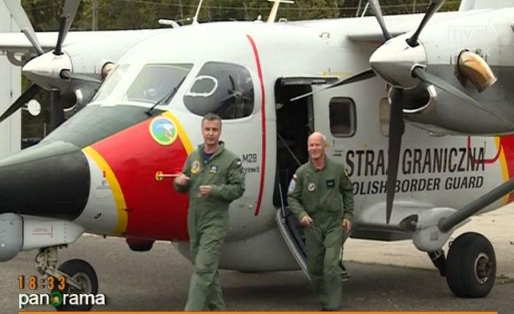 Lotnicza misja Straży Granicznej w Grecji