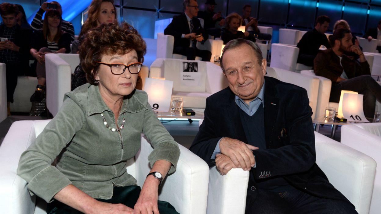 Dorota Sumińska i Kazimierz Kaczor (fot. Jan Bogacz/TVP)