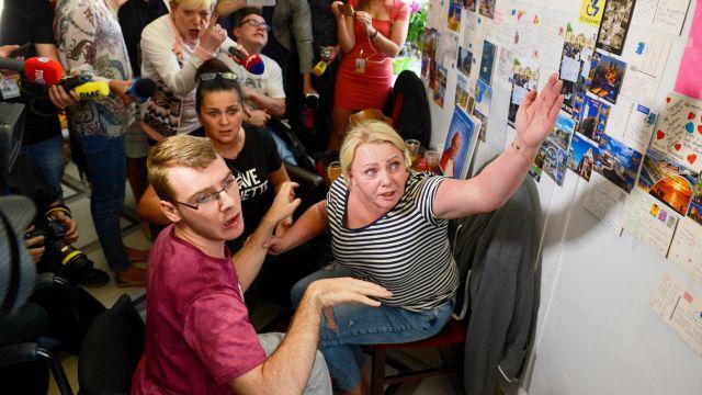 Protest osób niepełnosprawnych i ich opiekunów zawieszony