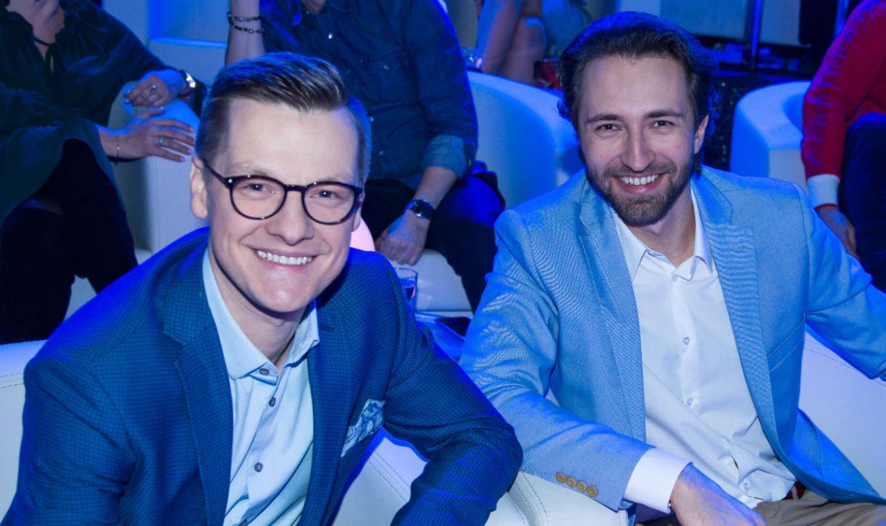 Marcin Mroczek Dariusz Wieteska w doskonałych nastrojach (fot. Jan Bogacz)