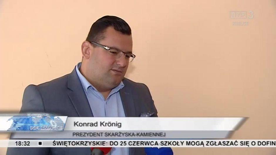 ... w któtrej uczestniczył prezydent Konrad Krönig
