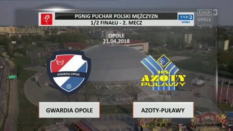 KPR Gwardia Opole vs. KS Azoty Puławy