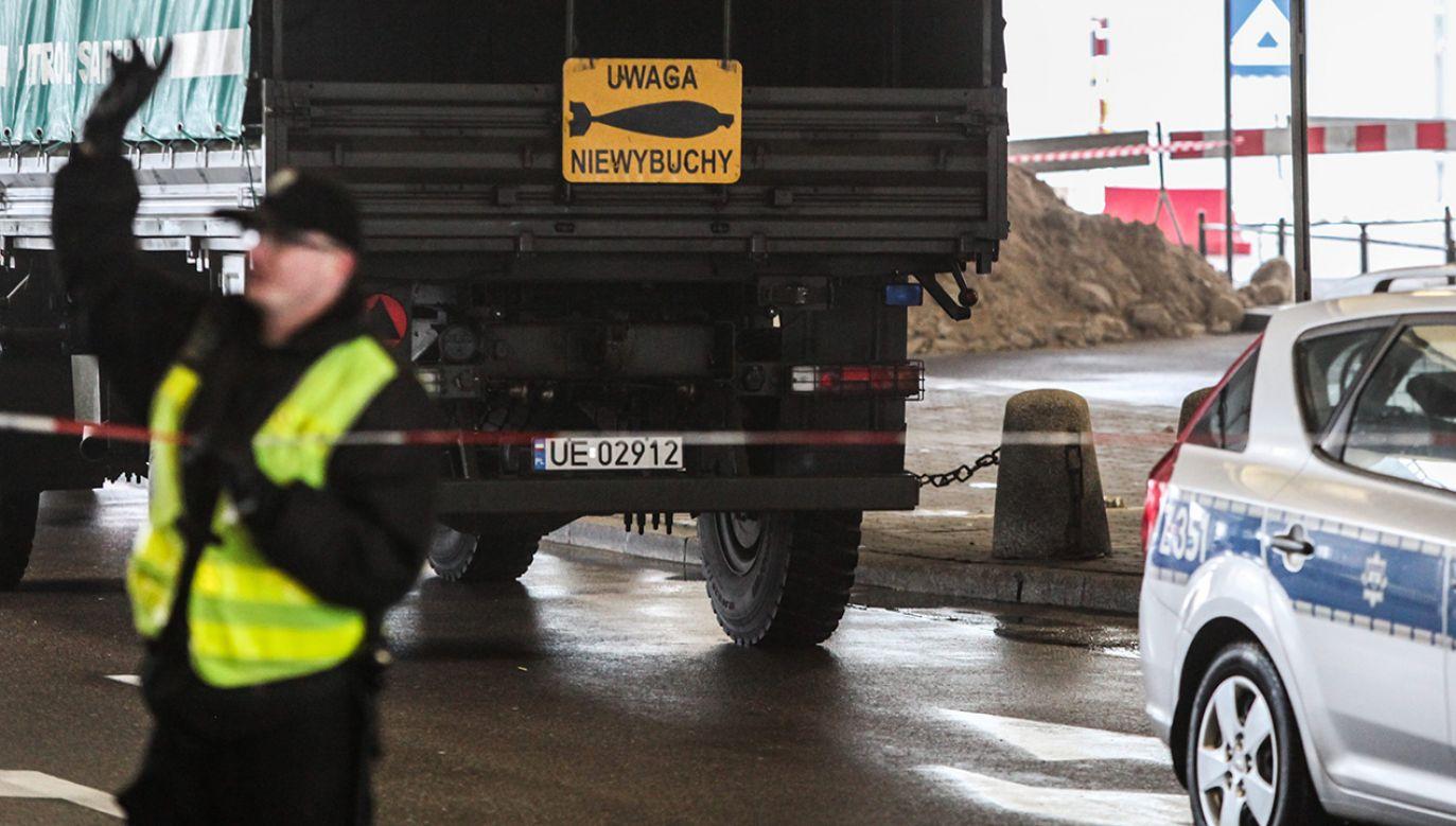 Na budowie marketu znaleziono bombę z czasów II wojny światowej (fot. arch.PAP/Jakub Kamiński)
