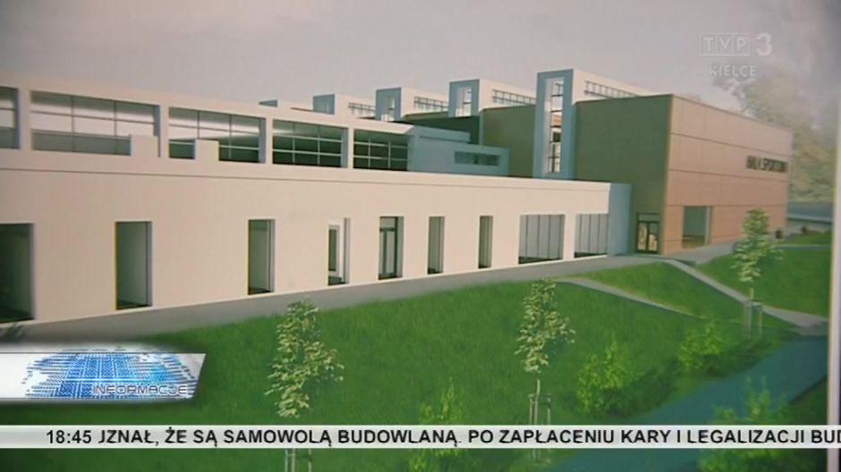 Powstanie Szkoła Mistrzostwa Sportowego. Wizualizacja nowych budynków.