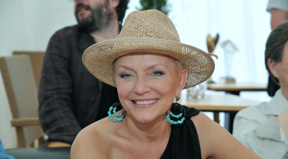 Małgorzata Ostrowska, wokalistka legendarnego zespołu Lombard (fot. Ireneusz Sobieszczuk/TVP)