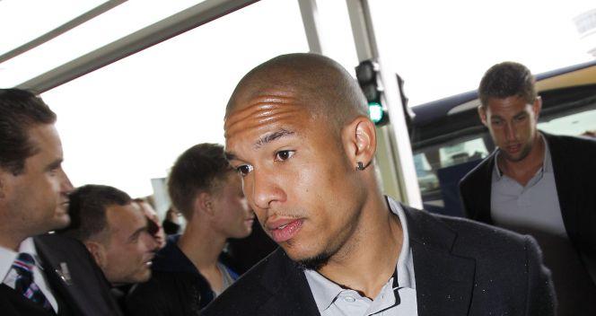 Nigel de Jong z Manchesteru City (fot. PAP/EPA)