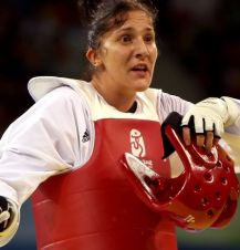 Sarah Stevenson (fot. Getty Images)