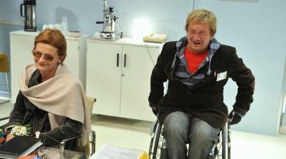 W spektaklu wystąpili także Dominika Ostałowska i Paweł Królikowski (fot.TVP)