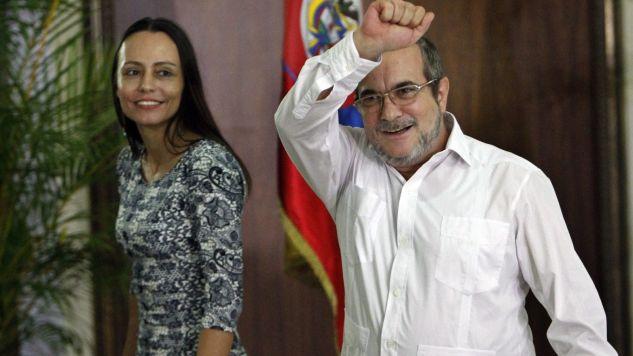 Przywódca FARC Rodrigo Londono nakazał koniec walk (fot. PAP/EPA/Ernesto Mastrascusa)