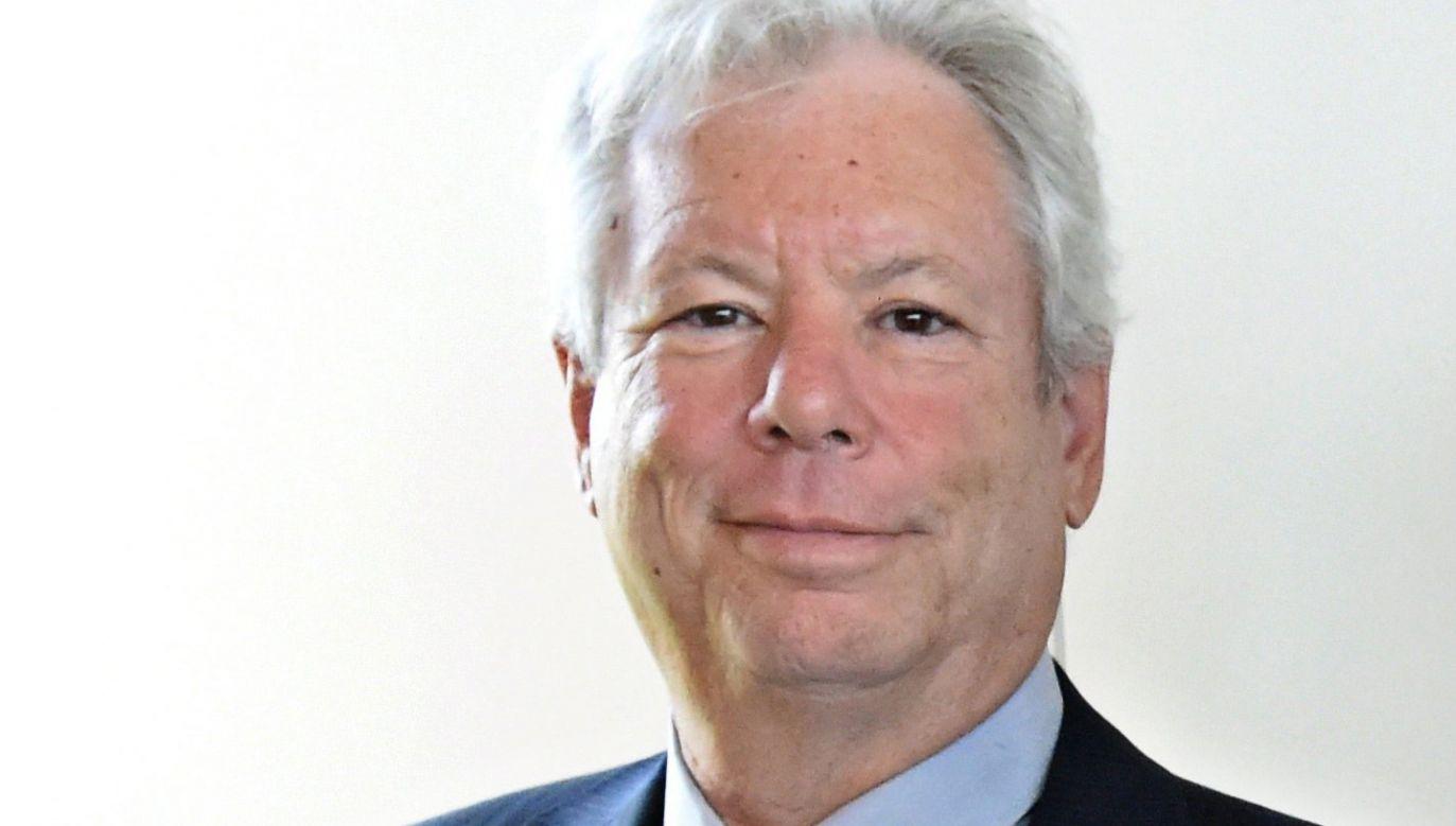 Tegoroczną Nagrodę Nobla w dziedzinie ekonomii otrzymał amerykański uczony Richard Thaler (fot. PAP/EPA/CARSTEN REHDER/POOL)