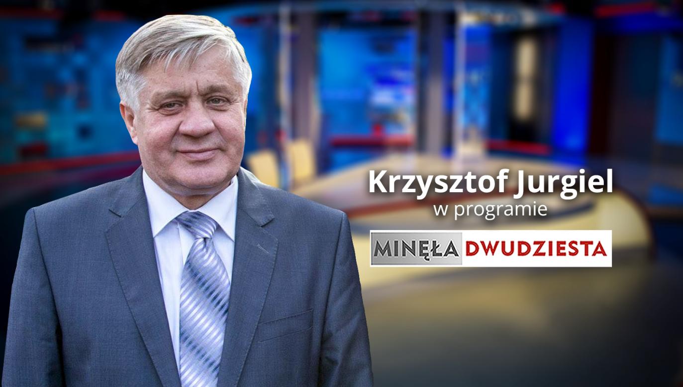 Minister rolnictwa Krzysztof Jurgiel (fot. graf. tvp.info)