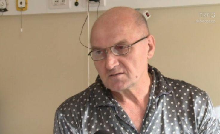Pacjent i lekarze Szpitala Miejskiego w Toruniu gotowi do pierwszego przeszczepu szpiku w regionie
