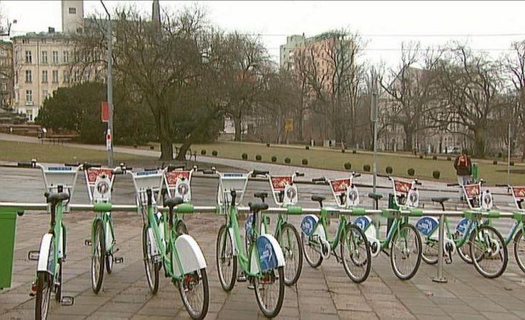 Po zimie ruszył rower miejski
