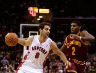 Jose Calderon - rozgrywający Toronto Raptors (fot. Getty)