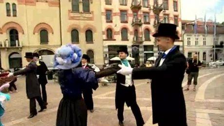 Balet w mieście. Happening Cracovia Danza