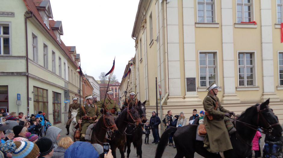 Święto Niepodległości na Starym Rynku w Bydgoszczy (fot. Bogdan Szwarczewski)